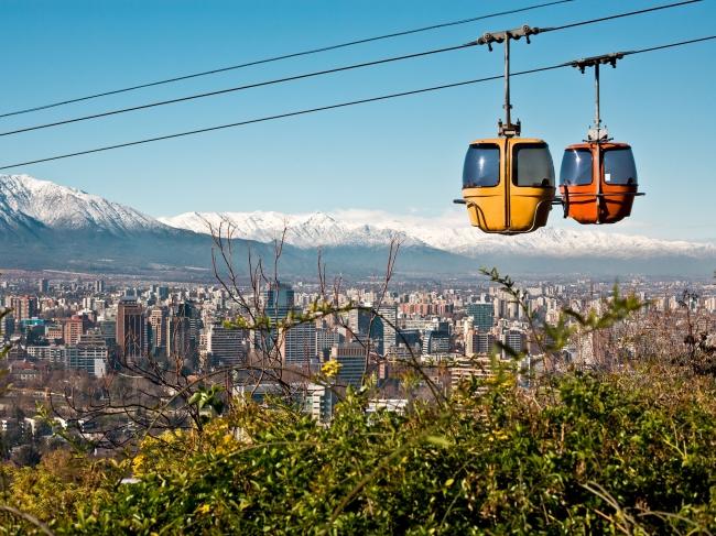 Viajes a Chile desde Cordoba. Vuelos o Bus a Chile  - Santiago de Chile /  - Buteler Viajes